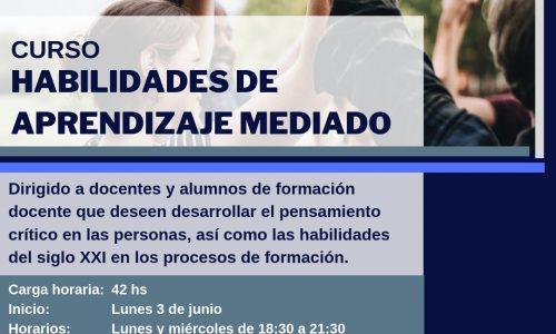 6af1707e2 El Instituto de la Fundacion CIRD invita a Participar al curso en  Habilidades de Mediación para el Aprendizaje. La fecha para postulación es  a partir de la ...